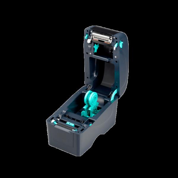 Принтер этикеток (термотрансферный, 203dpi) TSC TTP-225, SU открытая крышка