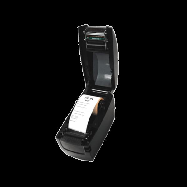 Принтер этикеток АТОЛ BP21 (термо, 203dpi) открытая крышка