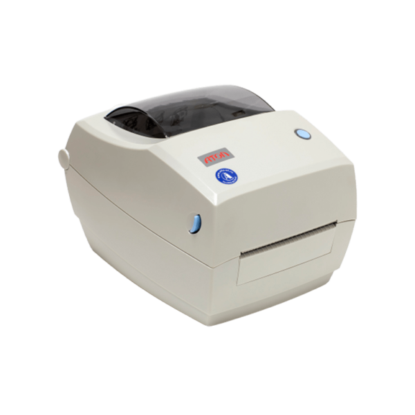Принтер этикеток АТОЛ ТТ41 (термотрансферный, 203dpi) сбоку