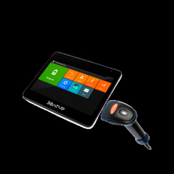 Онлайн-касса Эвотор 10 + 2d сканер купить в Волгограде, цены в Волгограде