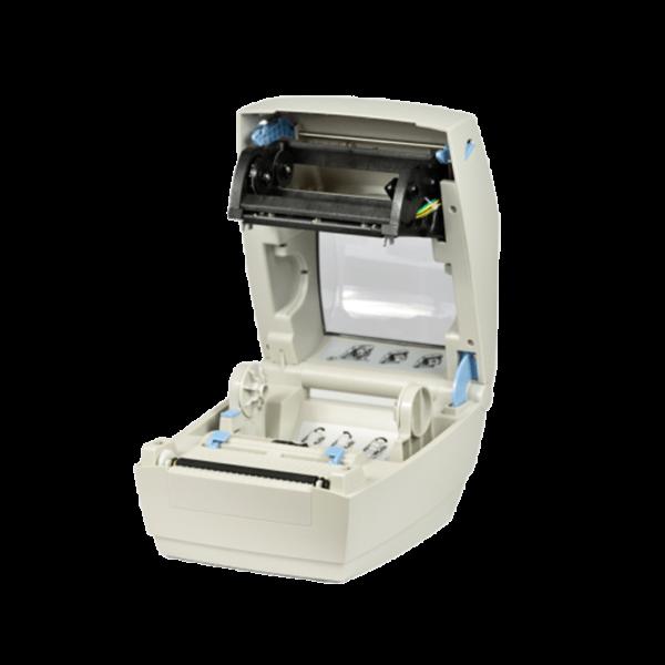 Принтер этикеток АТОЛ ТТ41 (термотрансферный, 203dpi) открытая крышка