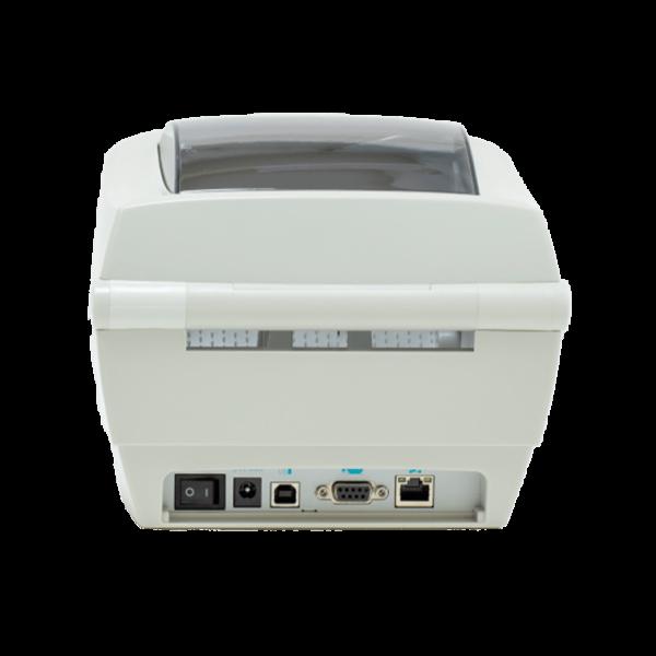 Принтер этикеток АТОЛ ТТ42 (термотрансферный, 203dpi) сзади